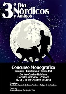 Concurso Asociación Española de Perros Nórdicos y Akita Inu 2012