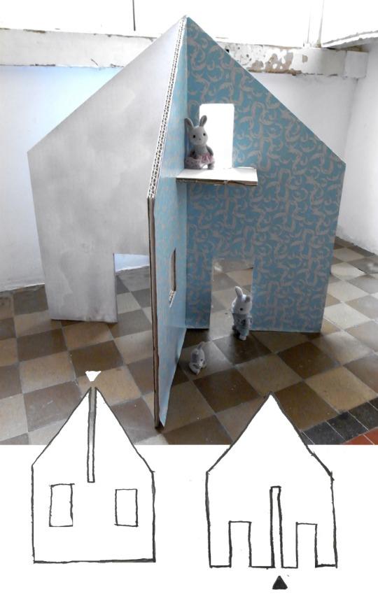 Reciclatex c mo hacer una casa de cart n para los ni os - Como construir una casa para ninos ...