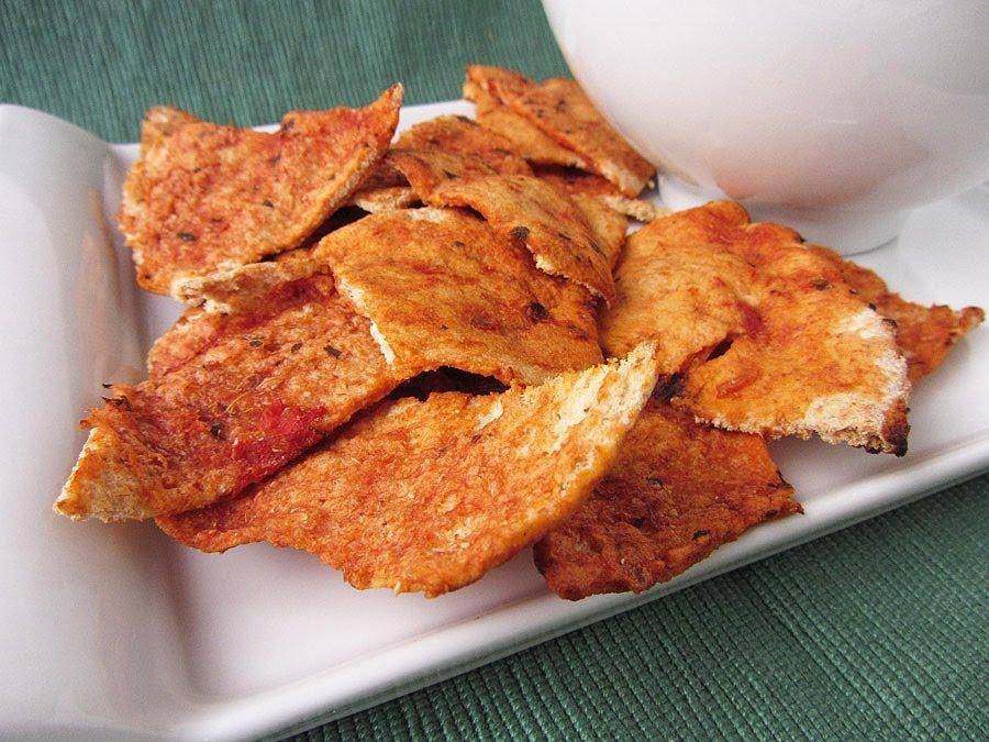 salsa pita chips