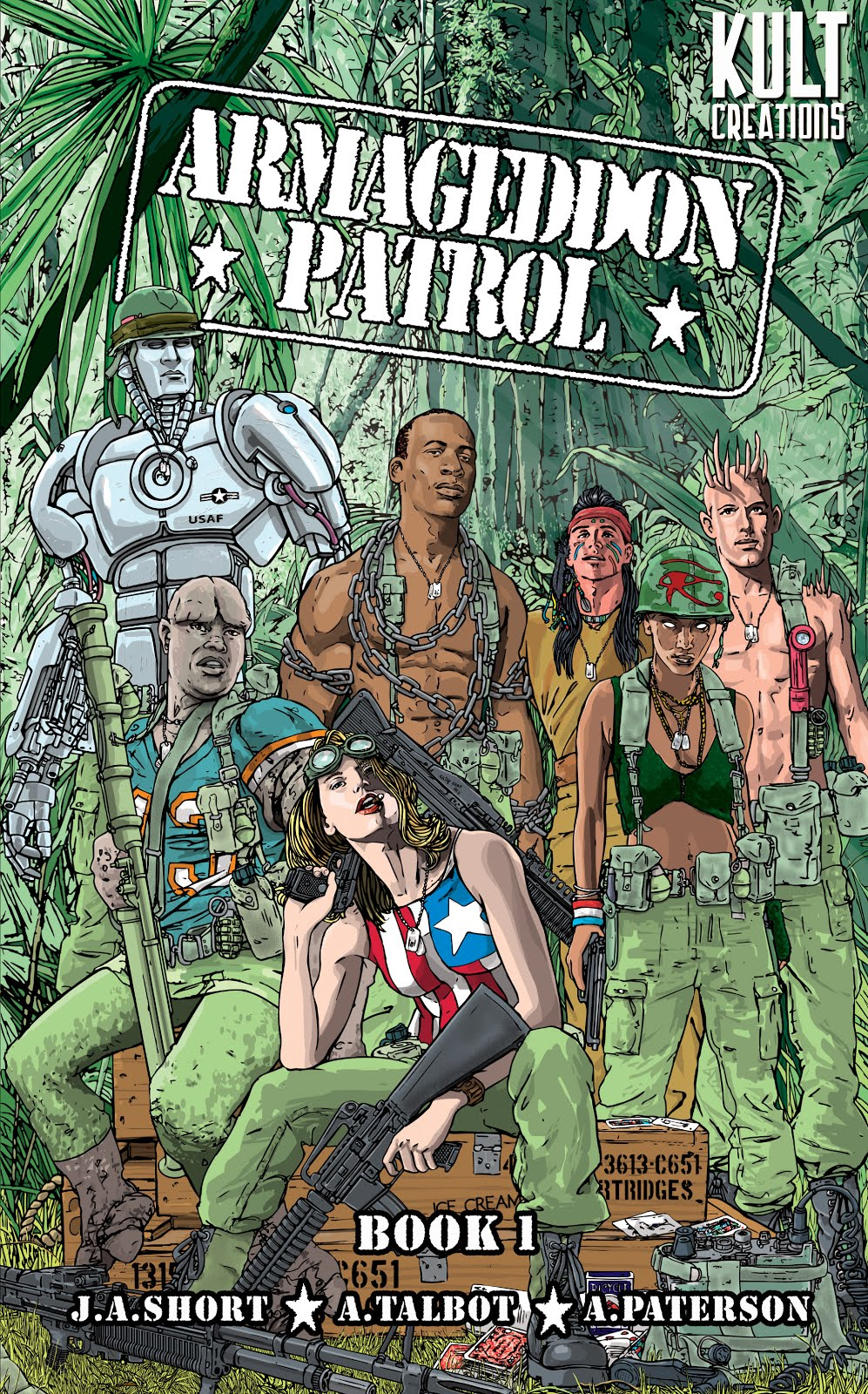 Link to buy ARMAGEDDON PATROL BOOK ONE - kindle