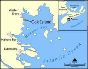Oak island, la isla del tesoro O1