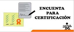 Encuesta Certificación