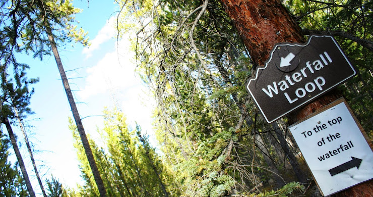 Hiking the Waterfall Trail in Granby, CO (8 pictures)