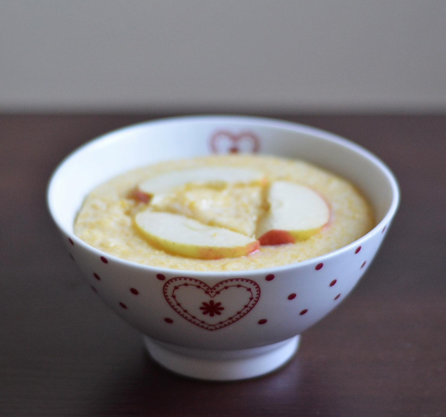 kaszka kukurydziana na mleku