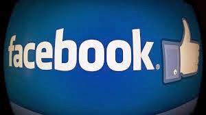 A página no Facebook