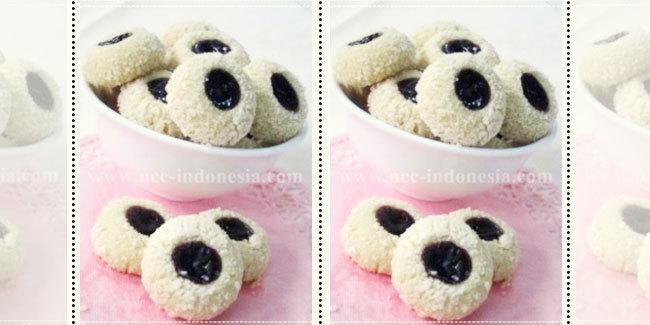 dengan kue-kue ringan dengan bahan selai, Blueberry Jam Drop Cookies ...