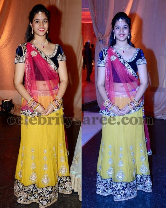 Girl in Yellow Lehenga