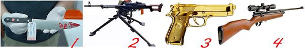 Resposta: 2, 3 e 4