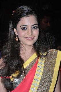 Nisha Agarwal Pictures in Saree at DK Bose Audio Release Function 0003