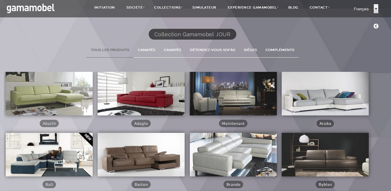 ventes privees sur internet gamamobel vente priv e. Black Bedroom Furniture Sets. Home Design Ideas