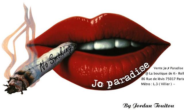 Jo' Paradise ( Jordan Touitou ) en collaboration avec Mégane Meimoun