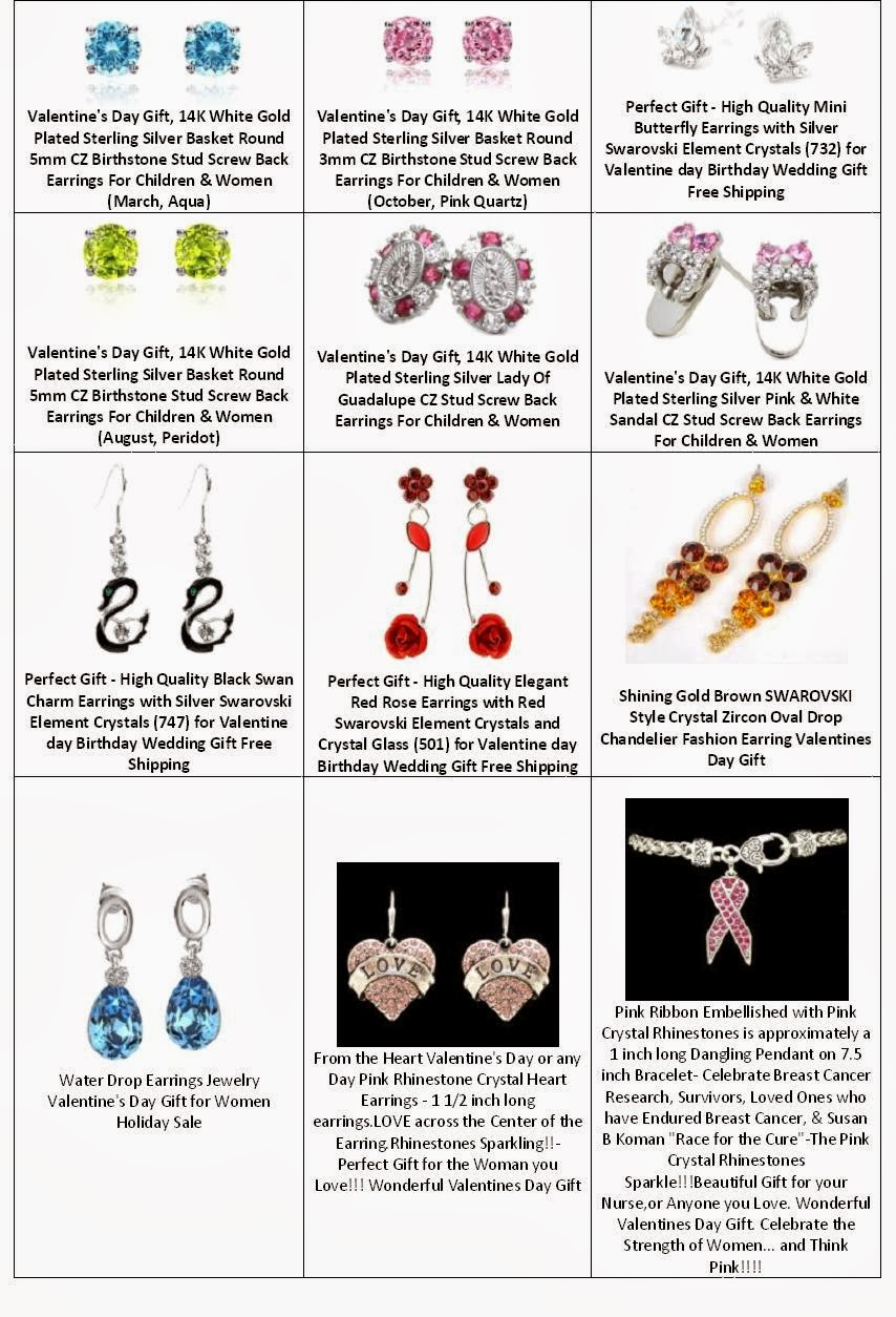 Find Best Valentines Gift For Her  --> Jewelry - Novelty Earring