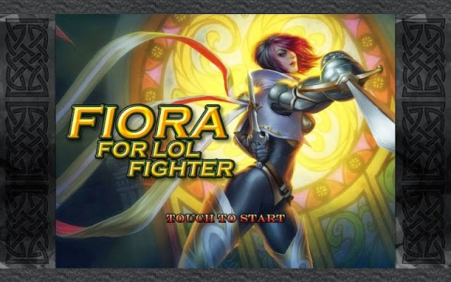 Fiora LOL Fighter Dragon Hell Gameplay Android