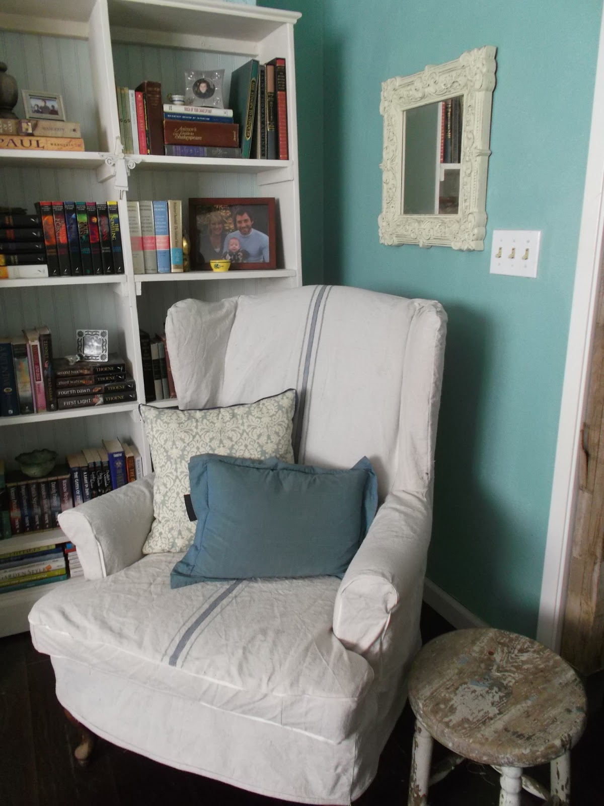 Tutorial: Wing Chair Slipcover