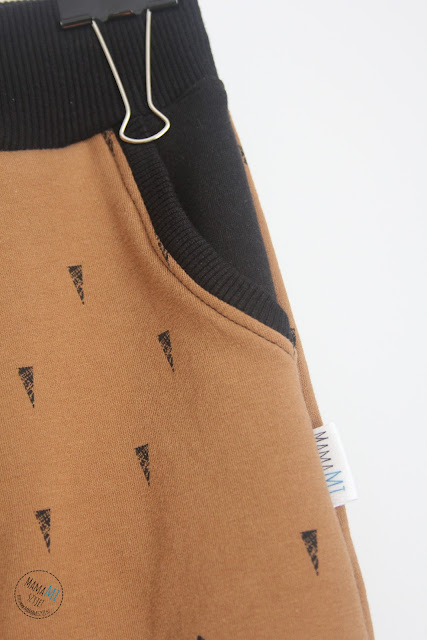 spodnie z kieszeniami dla dziecka