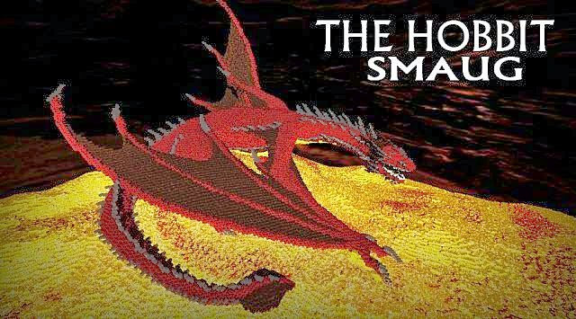 Smaug – The Hobbit Map