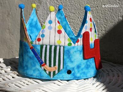 Corona d'aniversari hoquei Casal l'Espluga de Francolí - Enfilades.cat