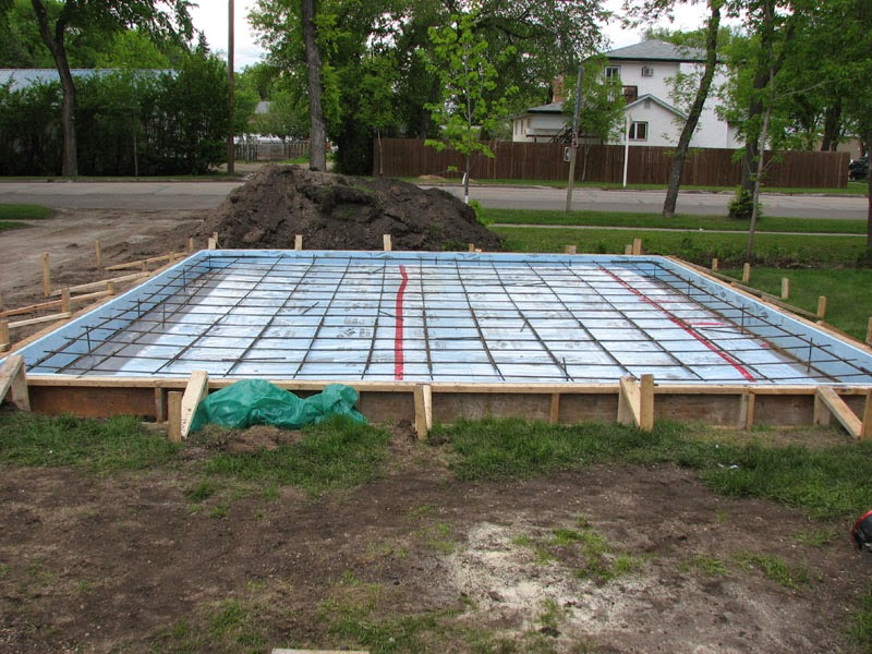 Paddy engineering consultant for Floating slab foundation cold climates