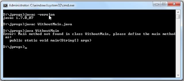 Java Program without main method_Output2