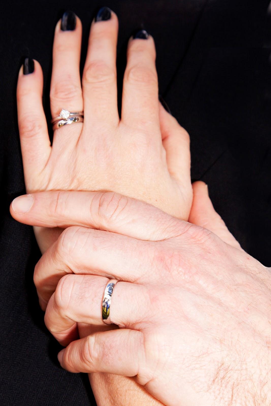 QWERTY Mum: Wedding Rings