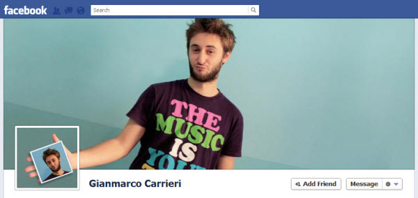 gianmarco carrieri facebookfever Amazing Creative Facebook Timeline Covers