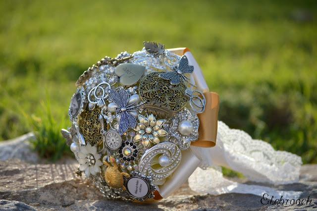 ramos de novia de broches elebrooch mi boda rocks experience