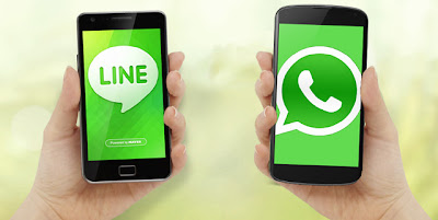 line vs whatsapp