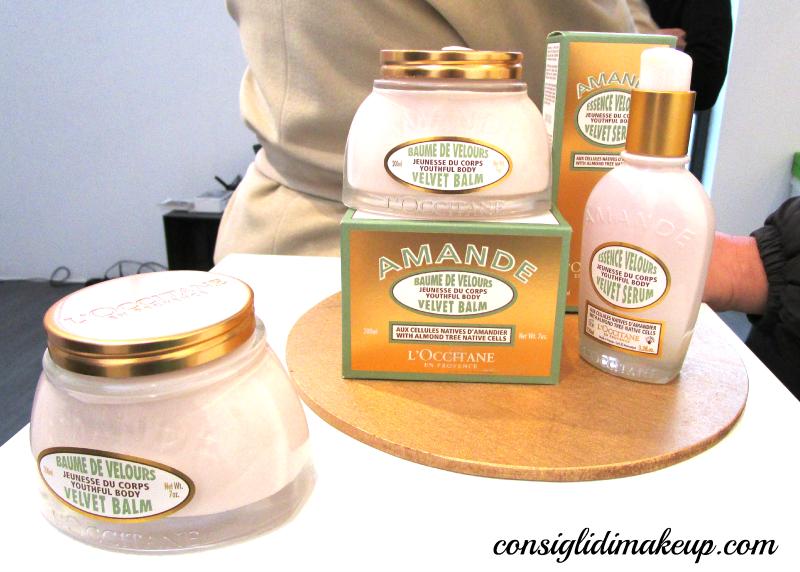 crema corpo siero amande l'occitane