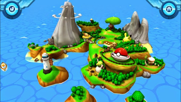 3d World Map App For Iphone. On a 3D world  you arrive to the island where are met by camp leaders who will introduce Camp Pok mon After quick tutorial Attend Now Your iPad iPhone New App