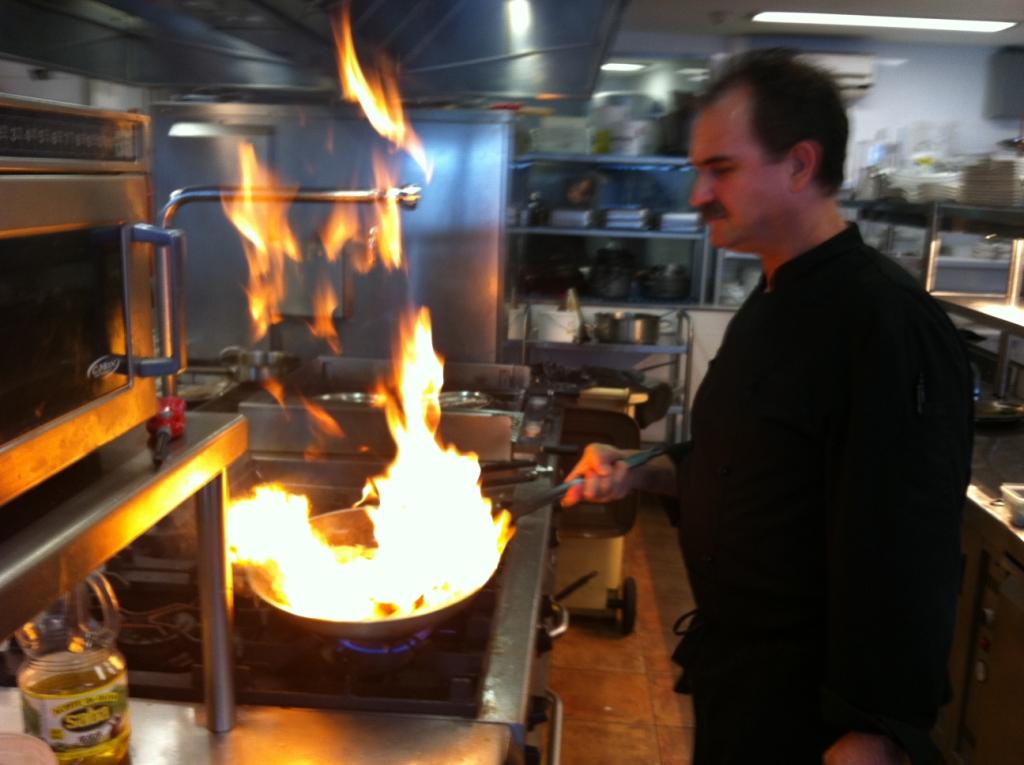 El cocinero del nautilus el fuego de la cocina - Cocina de fuego ...