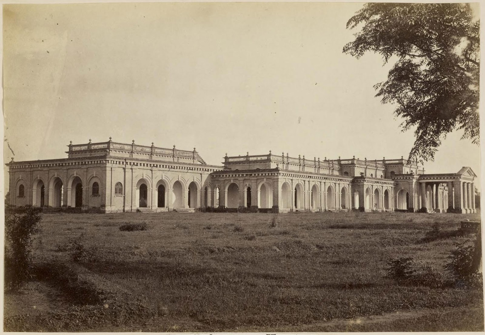 Bulrampore Hospital Lucknow C1870 39 S Old Indian Photos