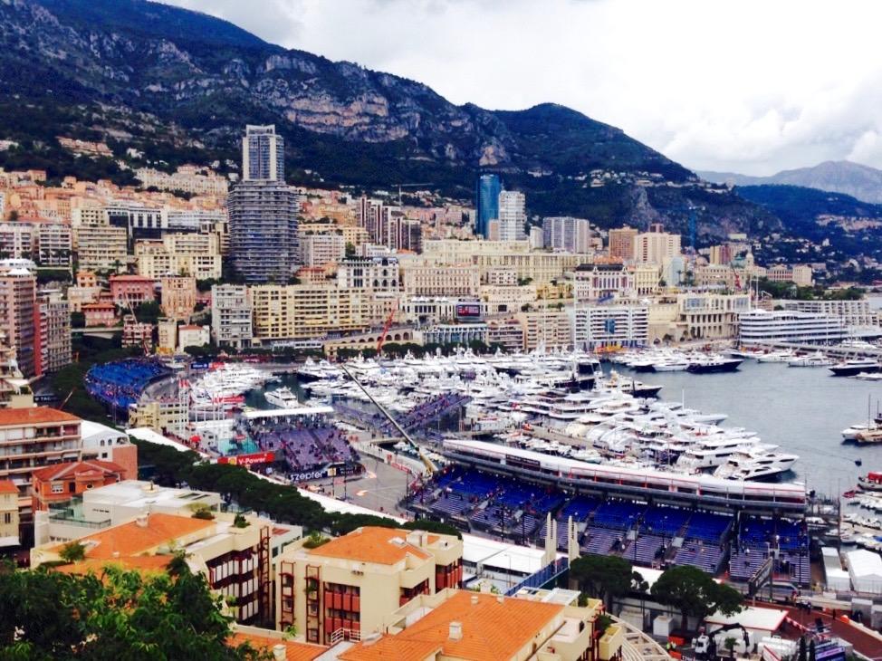 Formula 1 racetrack Monaco