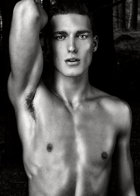 Nikola Jovanovich by Daniel Jaems for 'Gods of Beauty'
