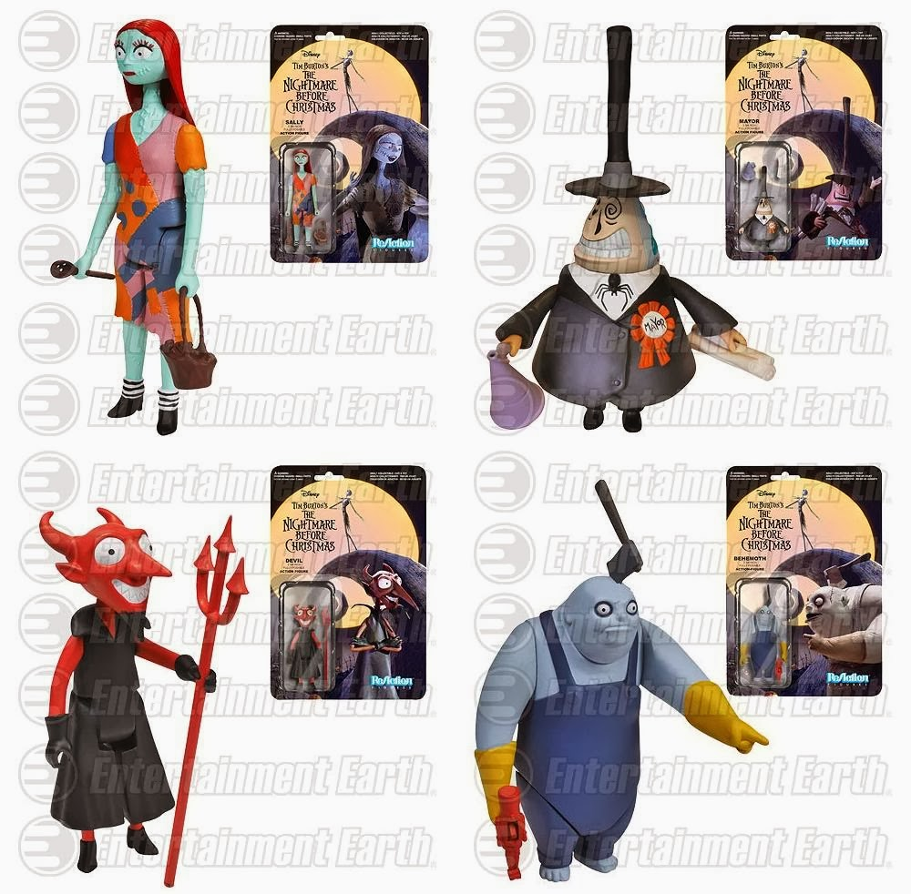 The Blot Says...: The Nightmare Before Christmas ReAction Retro ...