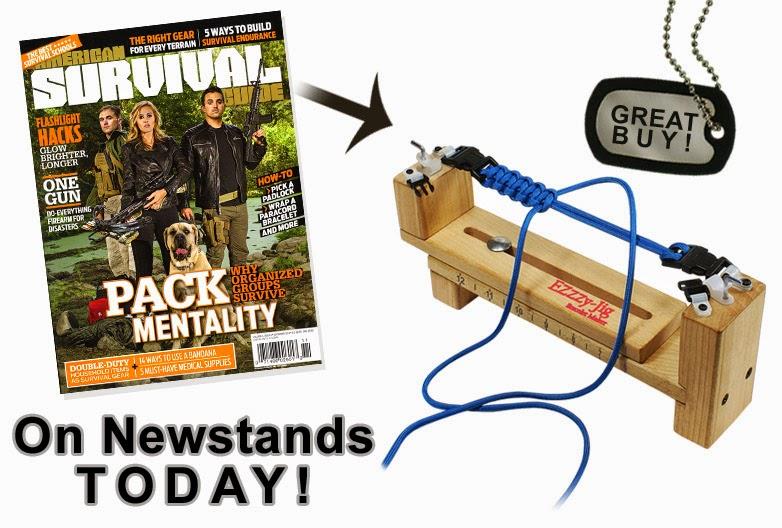 EZ Jig is a American Survival Guide Magazine Feature