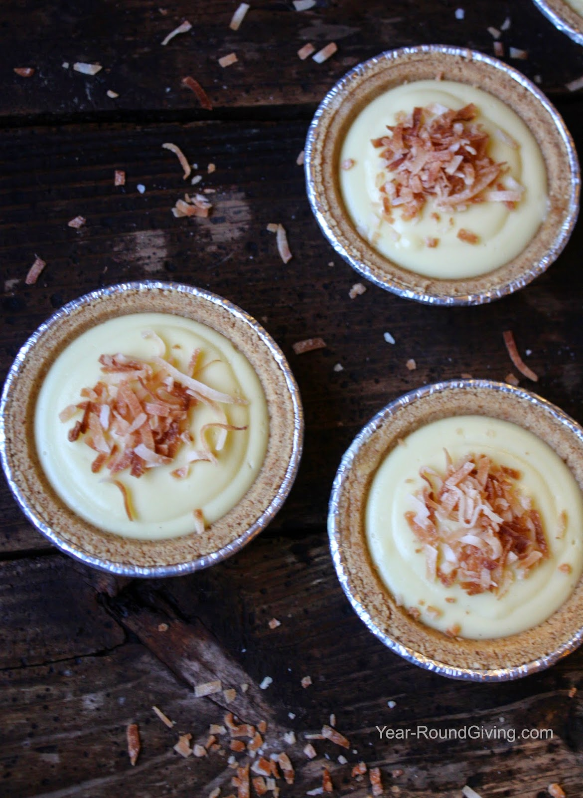 Homemade Coconut Cream Pudding. So easy and so good you will wonder why you haven't made it before!