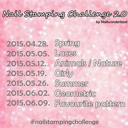 Nail Stamping Challenge #2