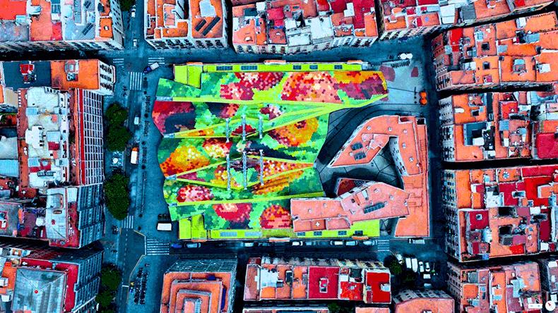 Foto mozzafiato: Spagna: Barcellona - Mercato di Santa Caterina
