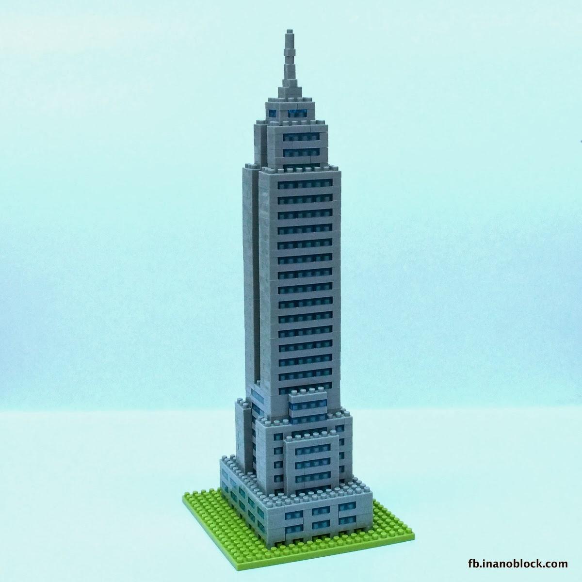 Christopher Tan Nanoblock Empire State Building Review