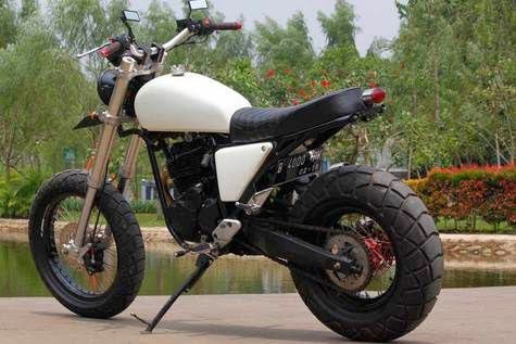 Modifikasi Yamaha Scorpio Keren