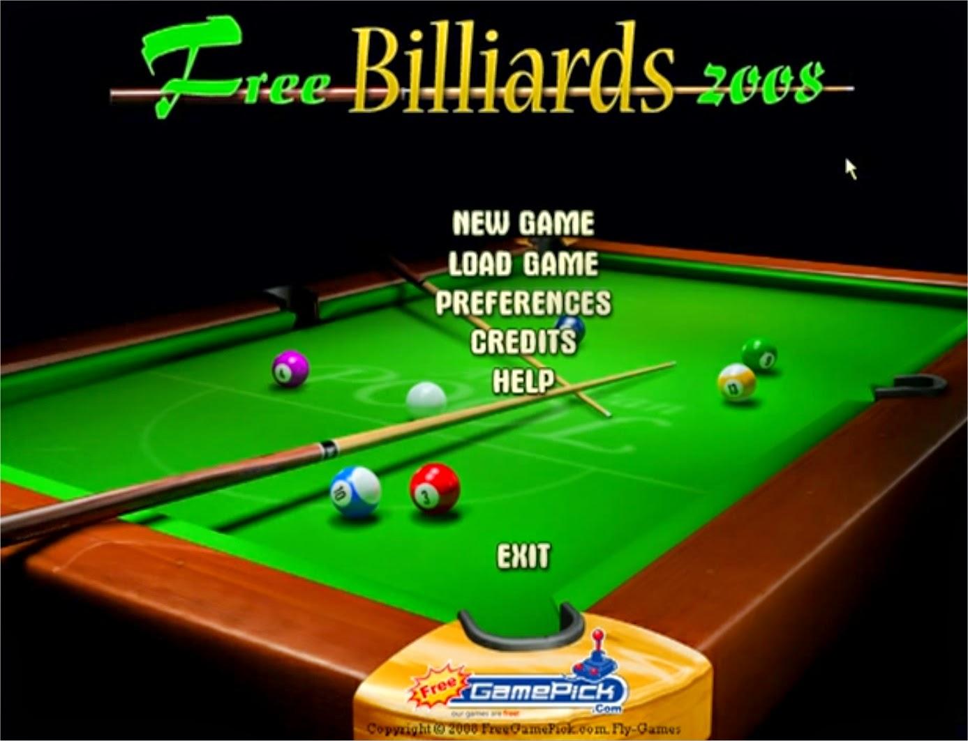 Free Billiards 2008 Logo