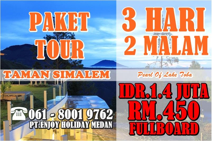 Promo Paket Tour Taman Simalem 3 Hari 2 Malam