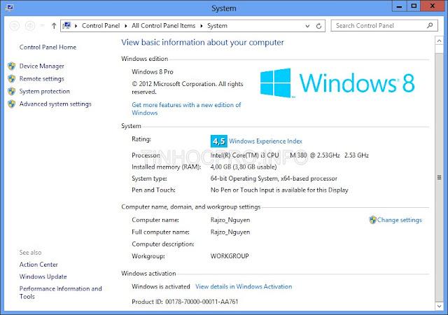 Crack Win 8 Pro không cần key - [Active Windows 8],Hướng dẫn active Win 7, Win 8 mới nhất 2013