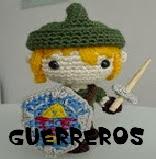 http://patronesamigurumis.blogspot.com.es/2013/12/patrones-guerreros-amigurumi.html