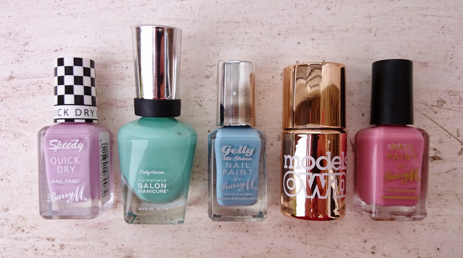 Top 5 Nail Polishes For Spring 2015
