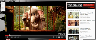 Imagen Anuncio Vevo - True View en Display de AdWords en YouTube
