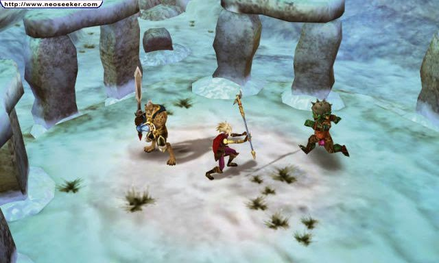 3DS Heroes of Ruin Screenshot