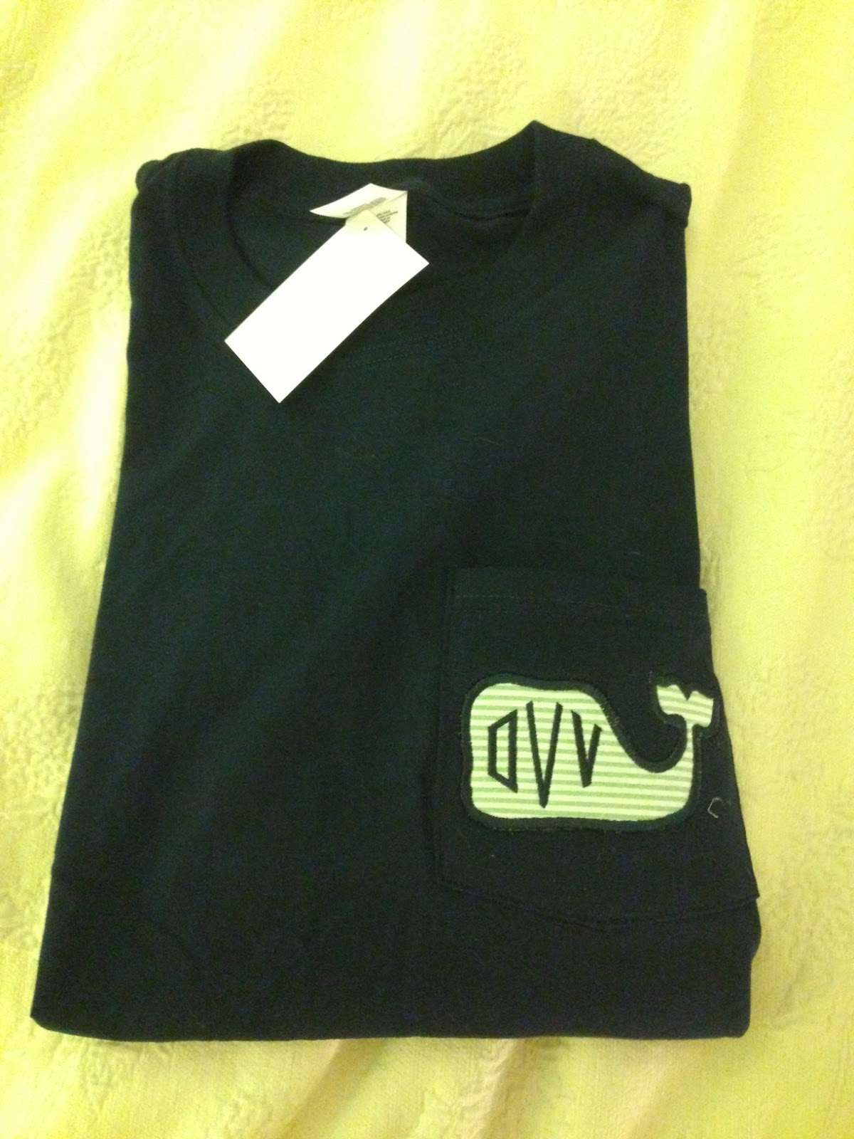 Overdressed Olivia: The Monogramming Queen T-