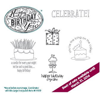 Stampin' Up! Best of Birthdays Stamp Set