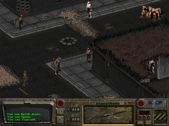 fallout screenshot pc game review gameplay 1 Fallout GOG Classic ISO RAiN